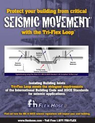 Building Seismic - Flex-Hose Co Inc