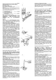 BeA-Druckluftnagler Typ Variant 806 G L Wa, 1s = 94 dB L pA, 1s ...