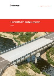 HumeDeck® modular bridge system brochure - Humes