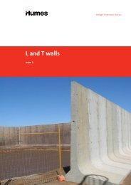 L and T walls brochure - Humes