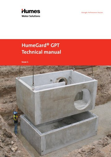 HumeGard® GPT Technical manual - Humes