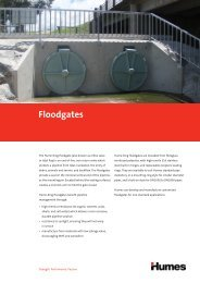 Floodgates brochure - Humes