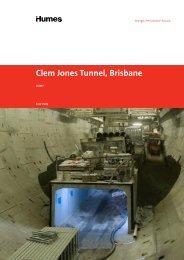 Clem Jones Tunnel, Brisbane - Humes