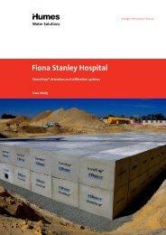 Fiona Stanley Hospital, WA - Humes