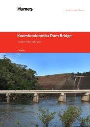 Koombooloomba Dam bridge, QLD - Humes