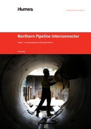 Northern Pipeline Interconnector, SEQ - Humes