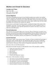 Syllabus of the course - cmmap