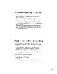 Forecasting slides - cmmap