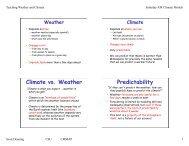 Climate Models - cmmap