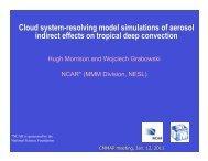 Cloud system-resolving model simulations of aerosol ... - cmmap