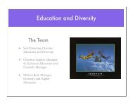 Education and Diversity Intro - cmmap