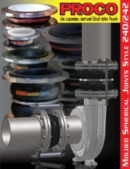 240/242 Spherical Expansion Joint Brochure PDF - Proco Products ...