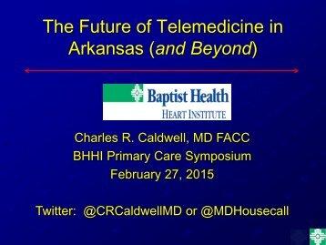 Future of Telemedicine in Arkansas_Caldwell