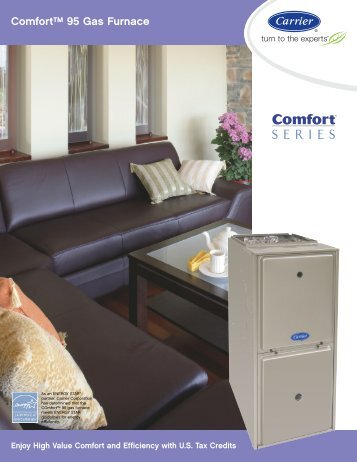 Comfort™ 95 Gas Furnace - Roberts Heating and Air
