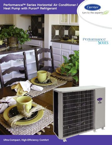 Performance™ Series Horizontal Air Conditioner - Docs ...