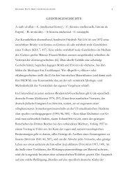 GEISTESGESCHICHTE - Wolfgang Fritz Haug