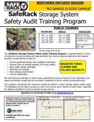 Safety Audit Training Program - Equipment World Inc.