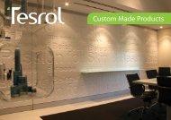 Custom Made Products - Tesrol