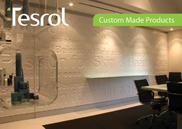 Custom Made Products - Tesrol