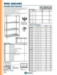 Mat Hand B26 48 shelving - Equipment World Inc.