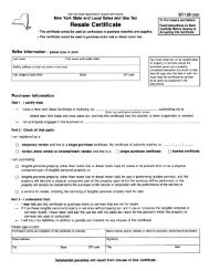 NYS Resale Tax Certificate .PDF
