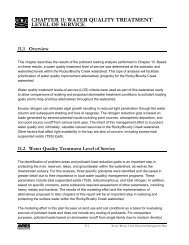 Rocky Brushy Creek Watershed Mgmt. Plan (2007) -- Part 4