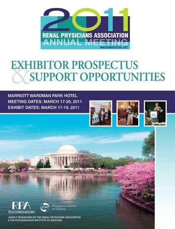Exhibitor ProsPEctus suPPort oPPortunitiEs - Renal Physicians ...