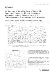 Saunders 20062 - Atypical Hemolytic Uremic Syndrome