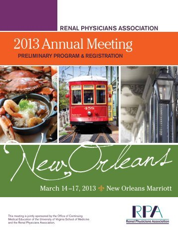 2013 Annual Meeting - Renal Physicians Association