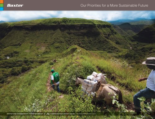 Our Priorities for a More Sustainable Future - Baxter Sustainability ...