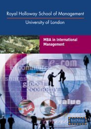 MBA in International Management - Free MBA Preparation