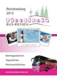 Reisekatalog 2015