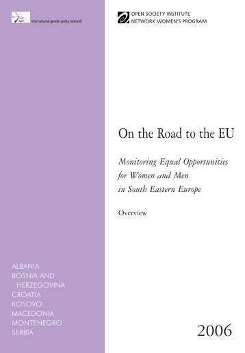 On the Road to the EU - International Gender Policy Network