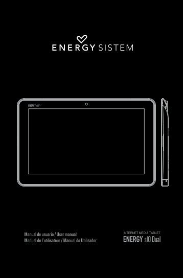 Manual del usuario - Energy Sistem