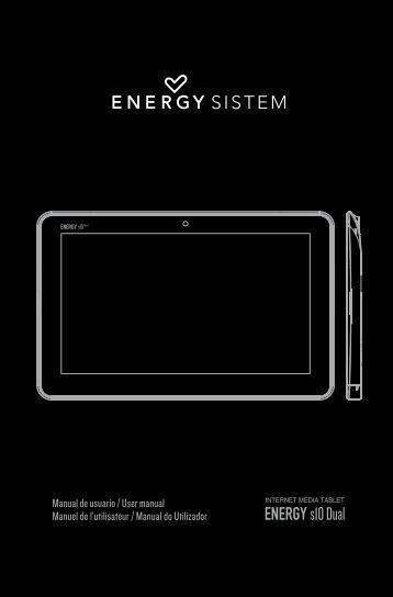 Manual del usuario - Energy Sistem