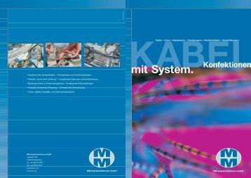 MM Kabel Prospekt - WMP Senn GmbH