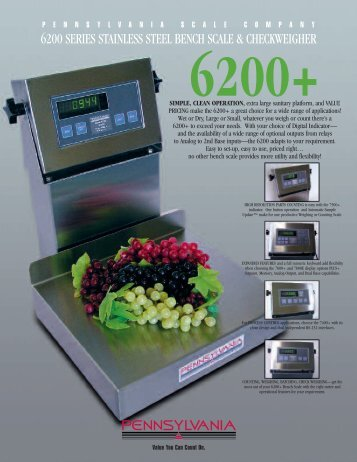 full service manual pennsylvania scale company rh yumpu com  pa 7600 manual