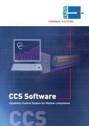 CCS Software - Rehm Group