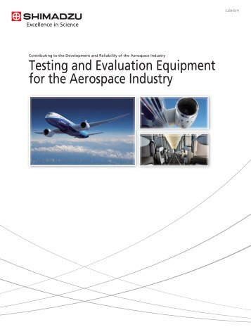 Testing and Evaluation Equipment for the Aerospace Industry