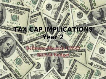 tax cap implications - Bellmore-Merrick Central High School District