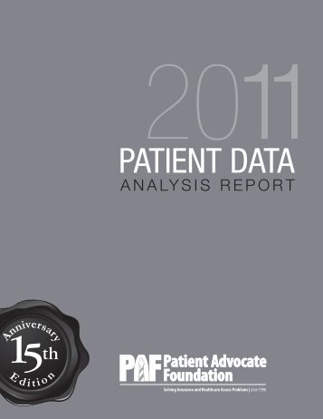 2011-PDAR-email version.pdf - National Patient Advocate Foundation