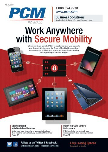 Work Anywhere with Secure Mobility - Computer Sales & Solutions ...
