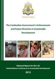 Cambodia - United Nations Sustainable Development