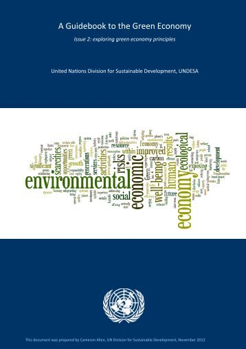 A Guidebook to the Green Economy - Issue 2 - United Nations ...