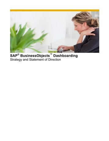 SAP BusinessObjects Dashboarding - SAP Blogs -- Home