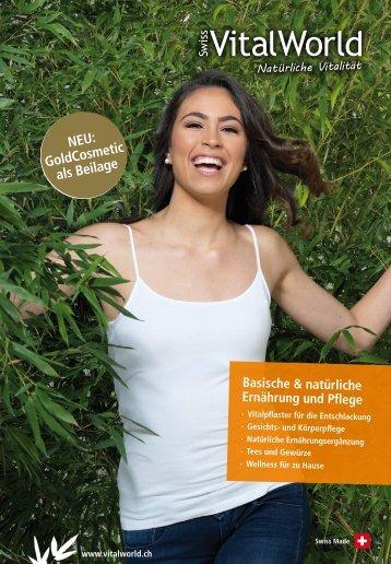 SwissVitalWorld Katalog März 2015