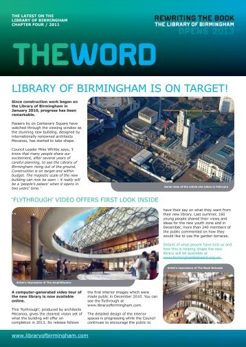 The Word 4 - Birmingham City Council