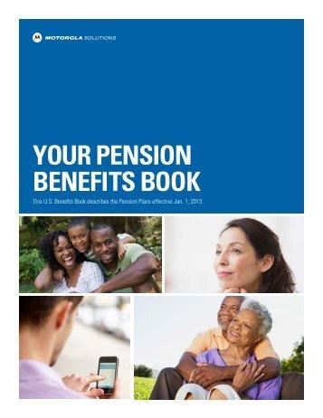 U.S. Pension Benefits Book - Motorola Solutions