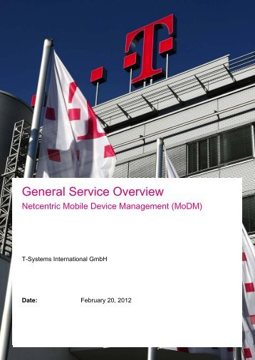 General Service Overview - Wiki