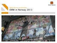 Presentation Norwegian Coordination - European Mobility Week
